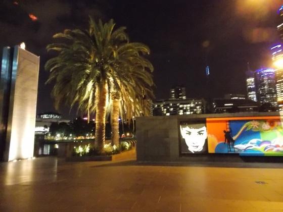Audrey loves Melbourne.