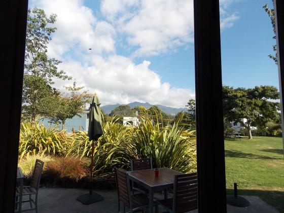 View from the cafe.
