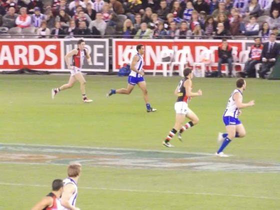 North Melbourne vs St Kilda