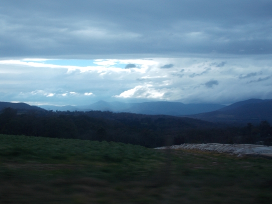 Australia is a beautiful place! Driving from Wandin to Yellingbo.