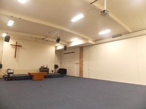 ...empty space.