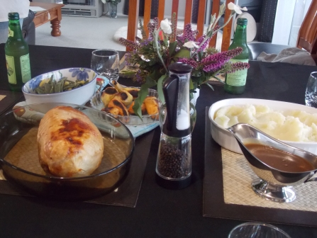 Delicious Thanksgiving dinner #2!