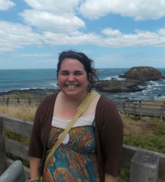 Me at The Nobbies, Phillip Island, Australia.